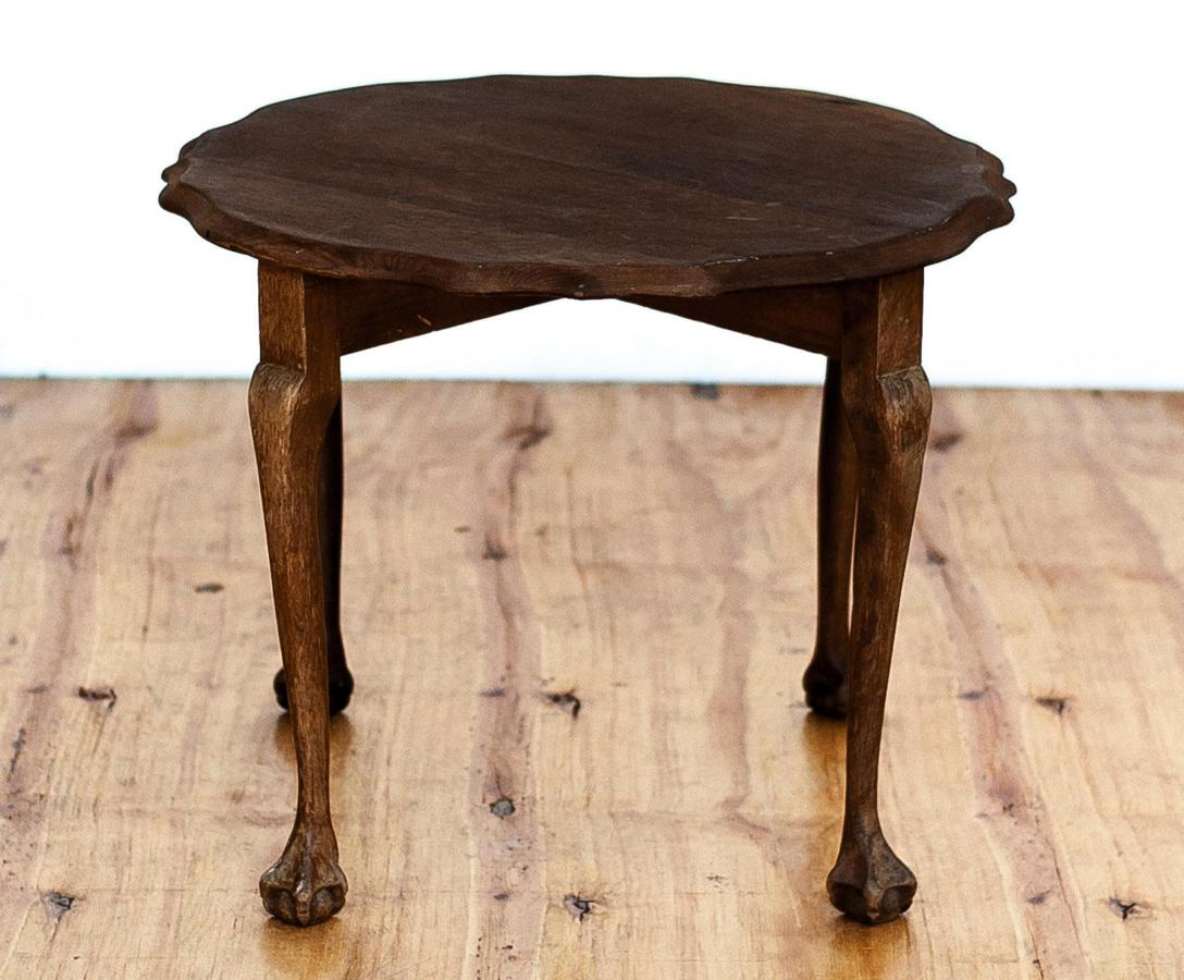 Round Ball U0026 Claw Coffee Side Table
